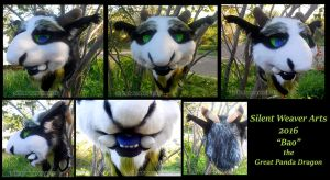 Bao the Great Panda Dragon .:Premade:. by MortaleRedWolf