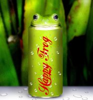 Happy Frog Cola by acemanoj