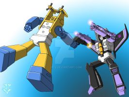 Seaspray VS. Skywarp by JP-V
