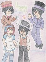 Happy Easter! :2012: by Vermilion-Heart