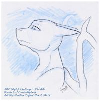100 Sketch Challenge :: 89 by cybre