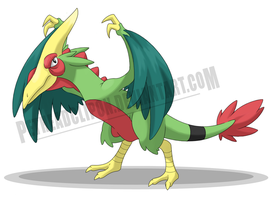Pteraptryx by petheadclipon