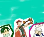 Tormod has been playing angry birds lately.. by torchicfan24