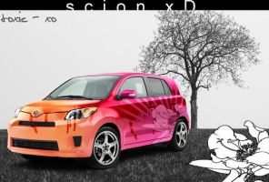 . Scion xD Sunrise . by toxic-xo