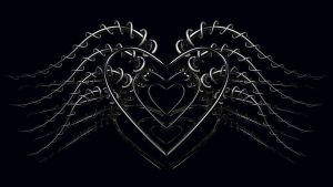 Dark Winged Hearts by TylerXy