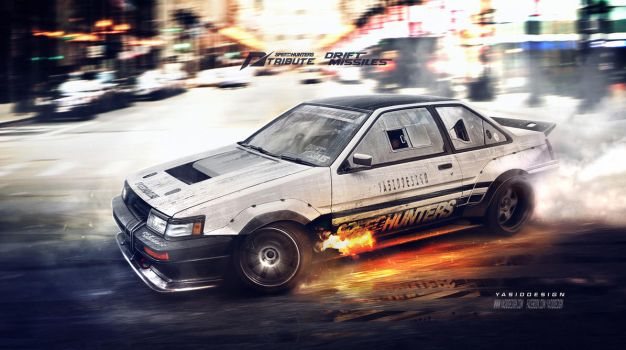Speedhunters Need for speed tribute Ae86 coupe by yasiddesign