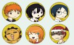 Badges: Bleach by spam-inc