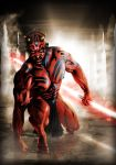 Darth Maul, The Trials by Harben-Pictures