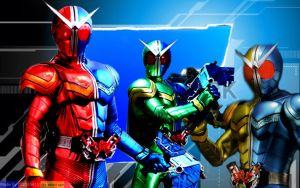 Kamen Rider W: Finger On The Trigger by OOO19415