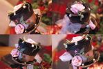 Chocolate and Roses Hat by NoFlutter