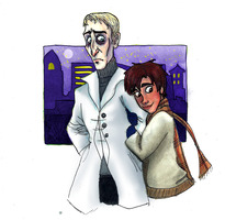 ART TRADE 1: Night on The Town by catgirl123