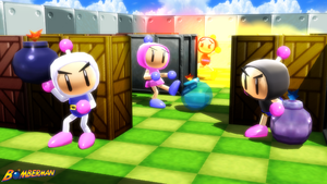 (MMD Models and Stage) Bomberman Set Download by SAB64