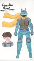 Reference Sheet - Masked Rider Bran by Elainatehkitty