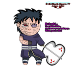Chibi Obito Uchiha by Evil-Black-Sparx-77