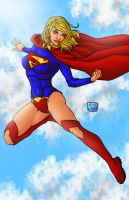 Supergirl 08 Colors by BanebrookStudios