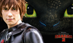 Hiccup Cosplay - How to Train Your Dragon 2 Poster by lowlightneon