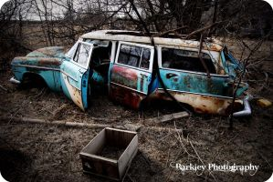 Abandoned Car by RougeEmpires