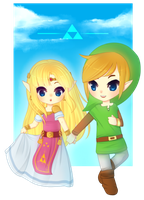 tLOZ: Come with Me by Over16Bit