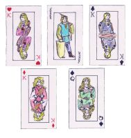 Finarfinian Cards by Gwenniel