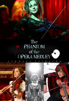 Lindsey Stirling Phantom of the Opera by vhesketh
