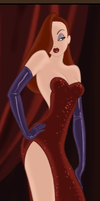 Jessica Rabbit by IshishParthenopaeus