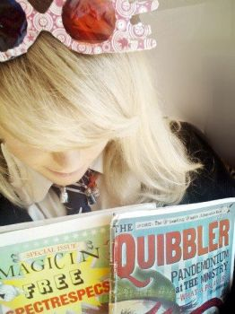 Luna Lovegood Quibblers Cosplay by MissWeirdCat