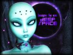 DbE-Deep Space-- Alien Eclipse by DesignsByEve