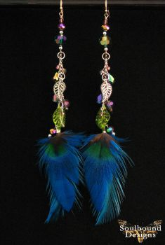 Voodoo Luck Charm Earrings by SoulboundDesigns