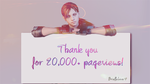 Thank you for 20,000 views! ^_^ by BriellaLove