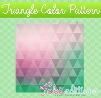 Triangle Color Pattern by fabii27