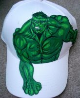 The Hulk Hat by SugiAi