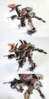 Zoid Gun Sniper Custom Collage by enc86