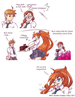 Brother Complex Valentine 2017 by N647