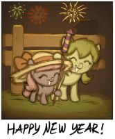 happy new year 2011 by Siansaar