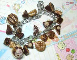 Peanut Butter Love Bracelet by GrandmaThunderpants