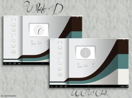 White D UCCW themes by vanessaem