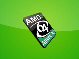 Athlon64 X2 4400+ Gr33n Left by Chico47