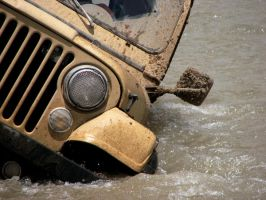 Jeep Drowning by yasharse7en