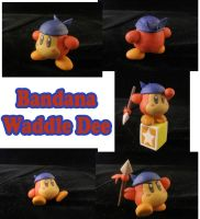 Bandana Waddle Dee Sculpture: Collage by ClayPita