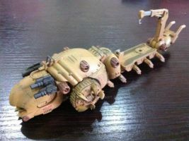 Zoids-Molga Carrier by tanlin