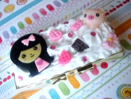 Sweets Girl Deco Pill Case by AmbiguousAngel