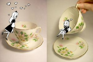 My First Tea Cup by RoxyRoo