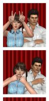 Leifang and Jann Lee Photo Booth by RazKurdt