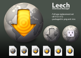Leech Icon Replacement set by adamspruijt