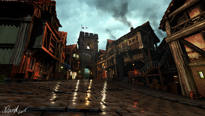 3D Village by duh-veed