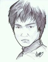 Bruce Lee by Wescoast