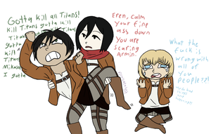 Shingeki No Whatever by ViralCatalyst