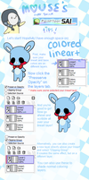 Mouse's Quick Paint Tool Sai Tips by fanatic-mouse