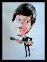 Paul McCartney by soucheff