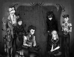 Don't Starve: Family Photo by processormalfunction